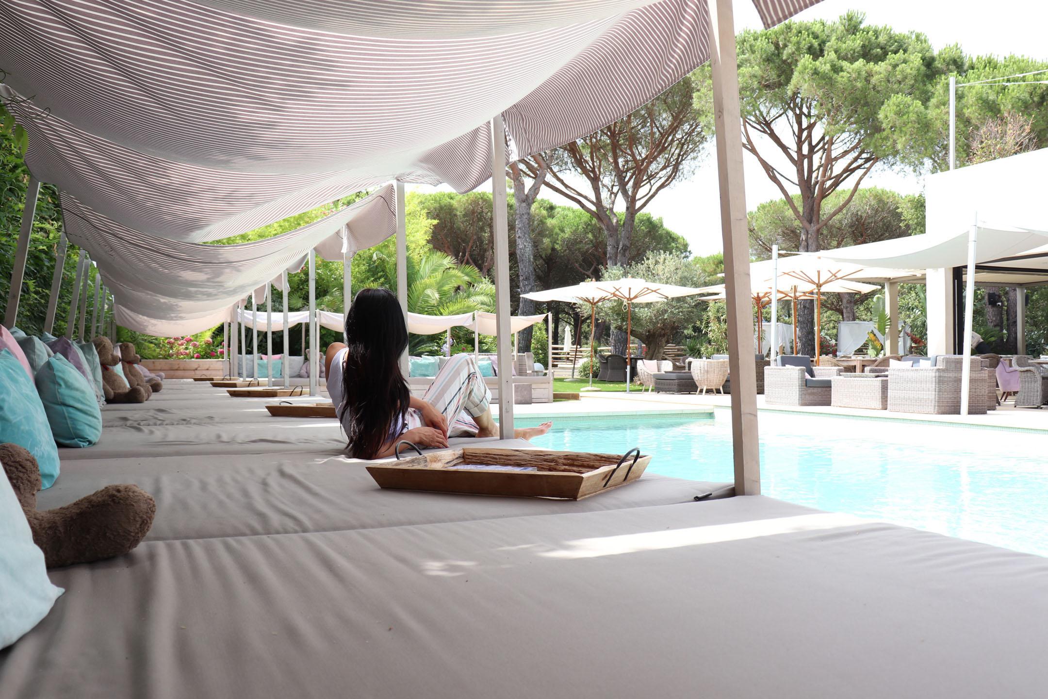 hotel font mourier 4 étoiles golfe de Saint-Tropez